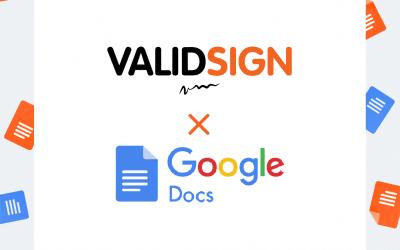 Digitaal ondertekenen vanuit Google Docs