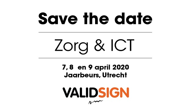 U wordt digitaal getekend op Zorg & ICT!