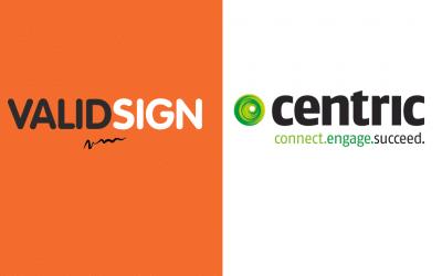 Centric en ValidSign verstevigen partnerschap