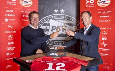 ValidSignOfficialeSigning Partner van PSV